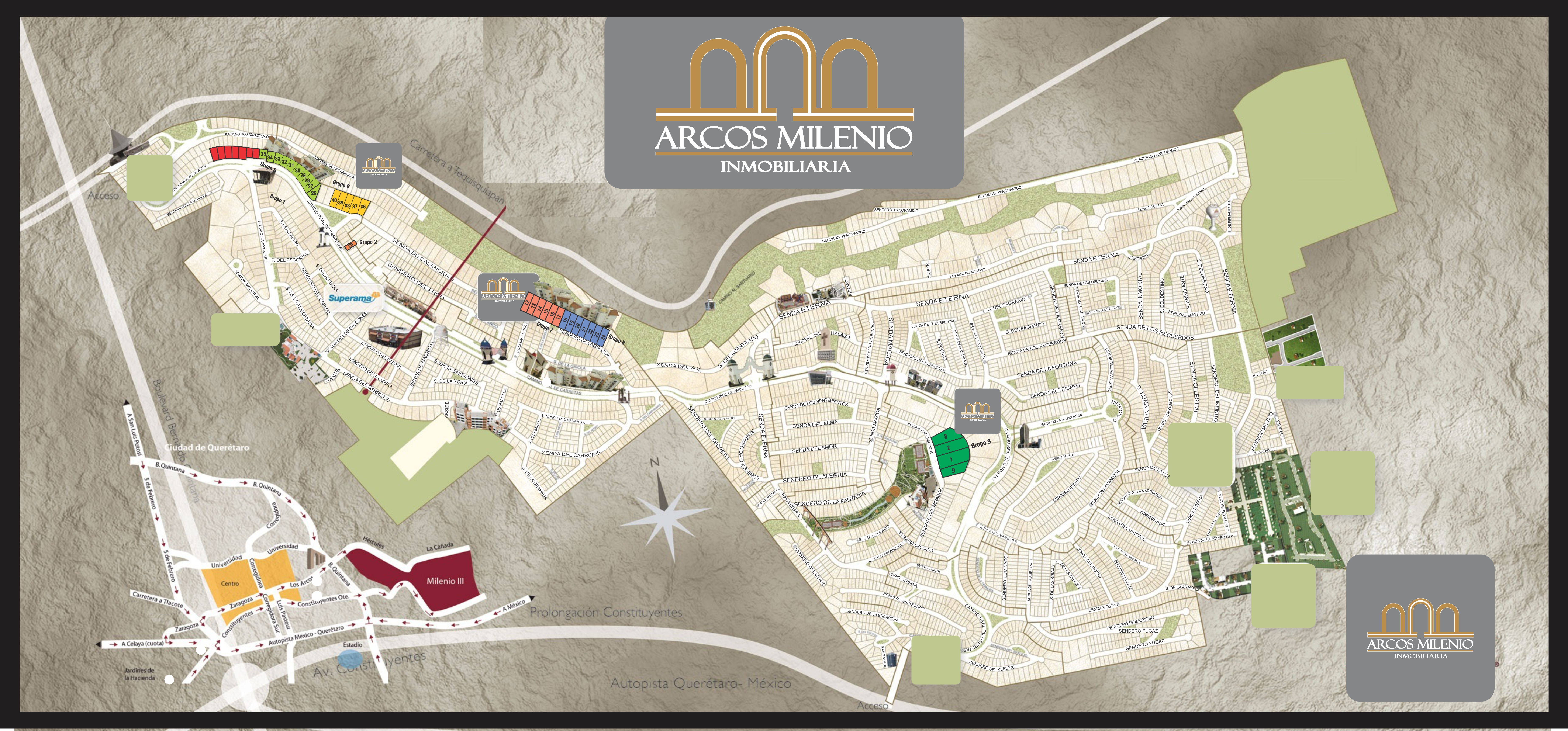 Arcos inmobiliaria milenio iii 3 for Inmobiliaria 4 arcos
